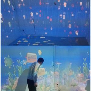 地面,墙面投影互动3D投影AR大型互动CAVE互动软件投影系统AR互动