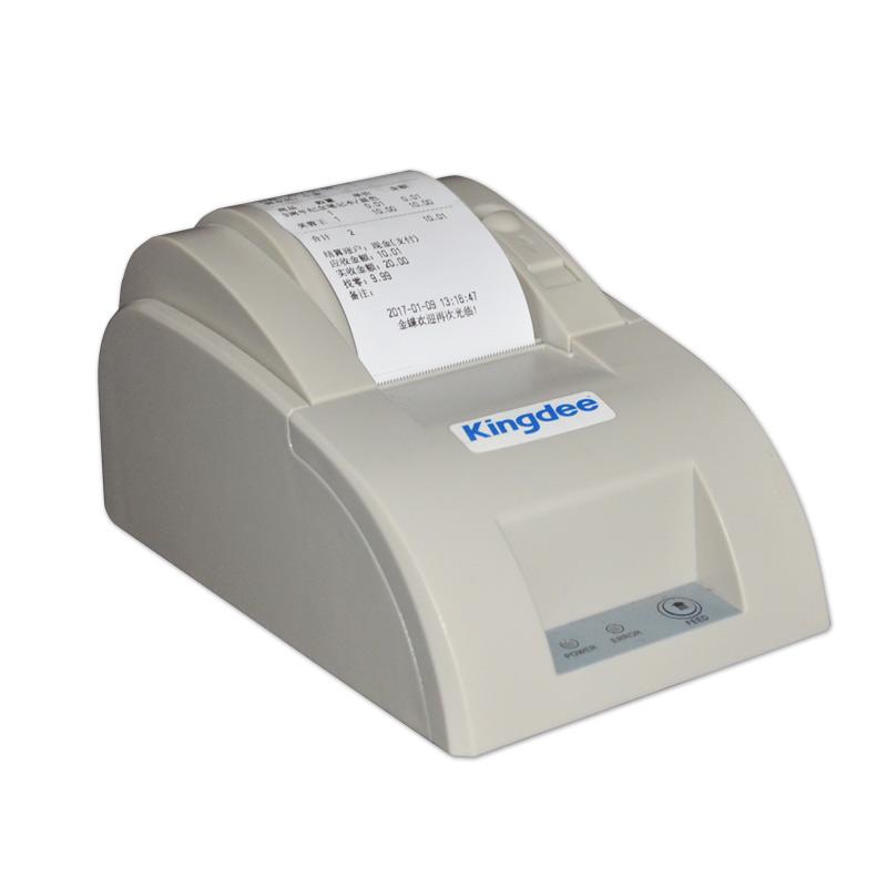 金蝶收银小票打印机58mm超市 门店收银热敏小票打印机包邮开票