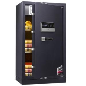 得力保险箱/保险柜系列3658A电子密码床头柜家用防盗保险柜办公加厚全钢入墙保管箱